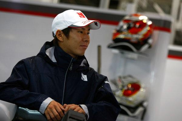 Suzuka Circuit, Suzuka, Japan.9th October 2010.Kamui Kobayashi, BMW Sauber C29 Ferrari. Portrait. World Copyright:Charles Coates/LAT Photographicref: Digital Image _26Y8183