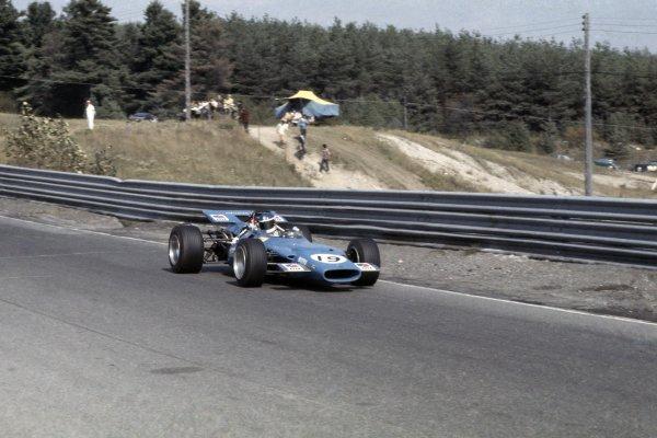 1969 Canadian Grand Prix,Mosport Park, Canada.20th September 1969.Johnny Servoz-Gavin (Matra MS84-FORD) 6th.Ref: 69 CAN 66World Copyright: LAT Photographic.