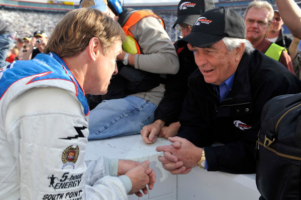 20-22 March 2009, Bristol, Tennessee, USARusty Wallace and Roger Penske©2009, LAT South, USALAT Photographic