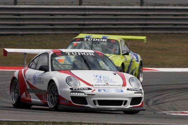 Wayne Shen (CDN) Modena Motorsports Porsche Carrera Cup Asia, Shanghai, China, 16-18 April 2010.
