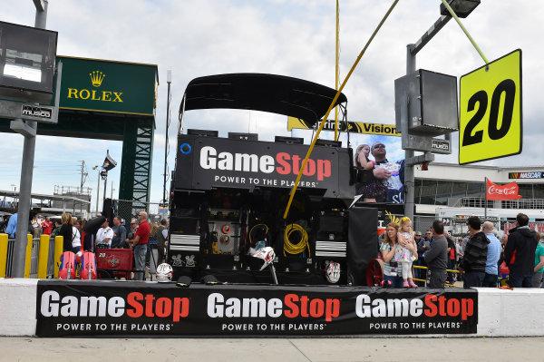 20-21 February, 2015, Daytona Beach, Florida USA Erik Jones, Game Stop Toyota Camry ? 2015, Nigel Kinrade LAT Photo USA