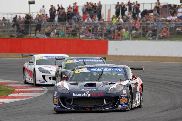 2014 Ginetta GT4 Supercup, Silverstone, England. 27th-28th September 2014. Carl Breeze (GBR) United Autosports World Copyright: Ebrey / LAT Photographic.