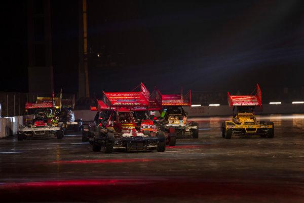 Autosport International Exhibition. National Exhibition Centre, Birmingham, UK. Sunday 11 January 2015. The Live Action Arena. World Copyright: Zak Mauger/LAT Photographic. ref: Digital Image _L0U4983