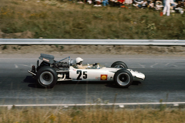 Mosport Park, Ontario, Canada.18-20 September 1969.Pete Lovely (Pete Lovely Volkswagen Inc/Lotus 49B Ford) 7th position.Ref-69 CAN 24.World Copyright - LAT Photographic
