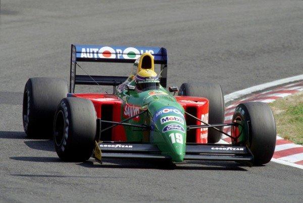 Roberto Moreno, Benetton B190 Ford.