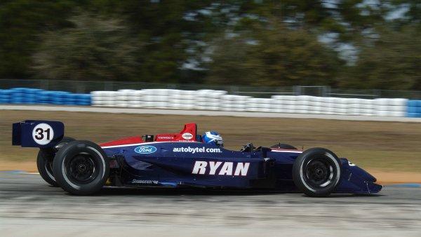 2003 Champ Car Spring Training.Sebring, Florida, USA.4-6 February 2003.Ryan Hunter-Reay (Team Johansson/Reynard 02i Ford).World Copyright - Michael L. Levitt/LAT Photographic