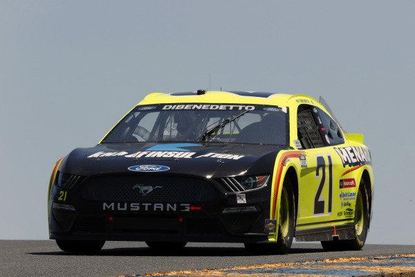 #21: Matt DiBenedetto, Wood Brothers Racing, Ford Mustang Menards/Knauf