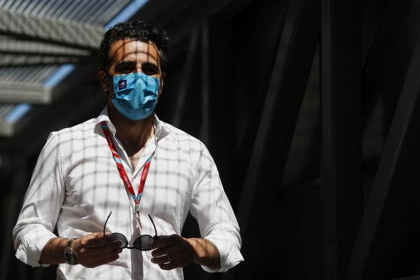 TV Pundit Dario Franchitti