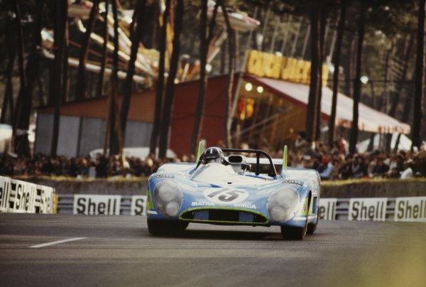 Henri Pescarolo / Graham Hill, Equipe Matra-Simca Shell, Matra-Simca MS670.