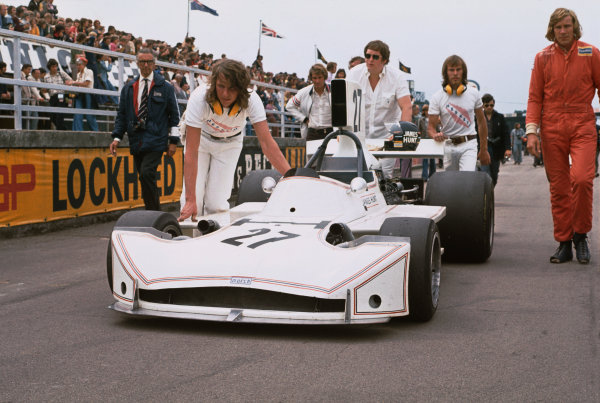Silverstone, England. 14th July 1973.