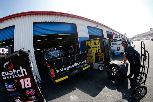NASCAR Camping World Truck Series Fred's 250 Talladega Superspeedway Talladega, AL USA Friday 13 October 2017 Noah Gragson, Switch Toyota Tundra World Copyright: Matthew T. Thacker LAT Images