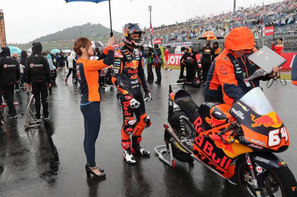 2017 Moto3 Championship - Round 15 Motegi, Japan. Sunday 15 October 2017 Bo Bendsneyder, Red Bull KTM Ajo World Copyright: Gold and Goose / LAT Images ref: Digital Image 22606