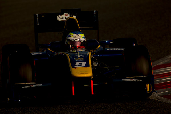 Circuit de Barcelona Catalunya, Barcelona, Spain. Monday 13 March 2017. Oliver Rowland (GBR, DAMS). Action.  Photo: Alastair Staley/FIA Formula 2 ref: Digital Image 585A7314