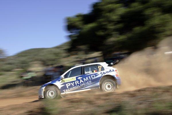 2007 FIA World Rally ChampionshipRound 8Acropolis Rally of Greece31/5-3/6  2007Francois Duval, Skoda, Action.Worldwide Copyright: McKlein/LAT