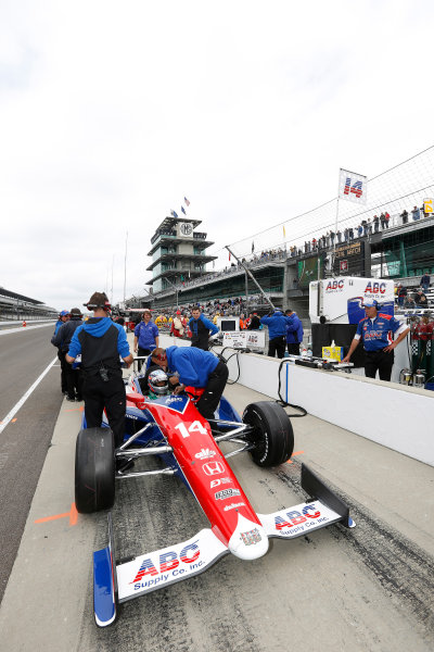 11-17 May, 2013, Indianapolis, Indiana, USA Takuma Sato © 2013, Michael L. Levitt LAT Photo USA.