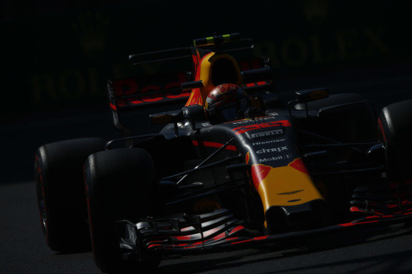Circuit of the Americas, Austin, Texas, United States of America. Friday 27 October 2017. Max Verstappen, Red Bull Racing RB13 TAG Heuer.  World Copyright: Andy Hone/LAT Images  ref: Digital Image _ONZ0275