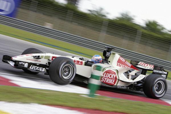 Jenson Button, Honda RA106.