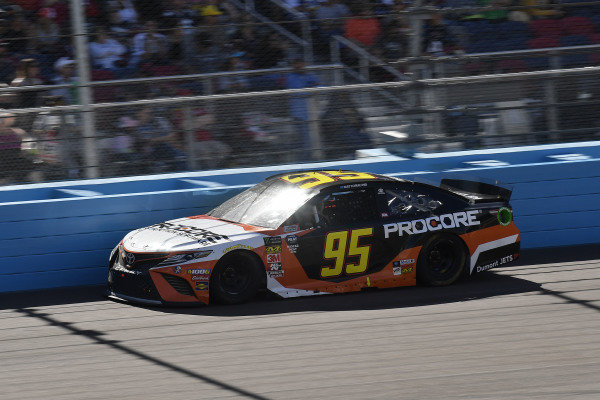 #95: Matt DiBenedetto, Leavine Family Racing, Toyota Camry Procore