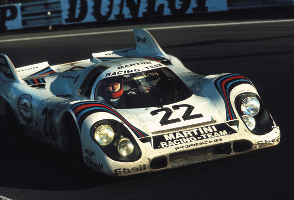 Helmut Marko / Gijs van Lennep, Martini International Racing Team, Porsche 917 K.