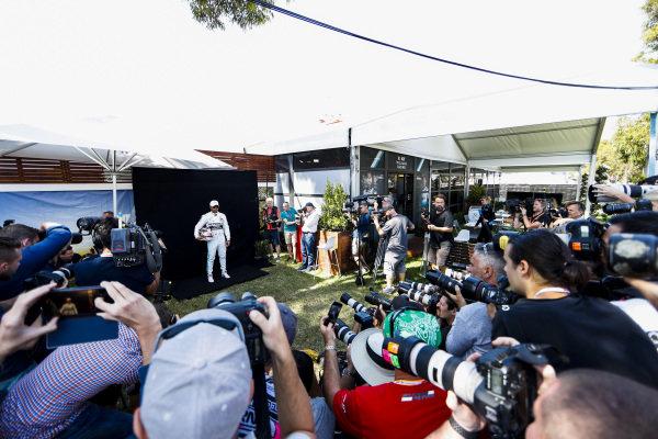 Lewis Hamilton, Mercedes AMG F1 during the Official Portrait