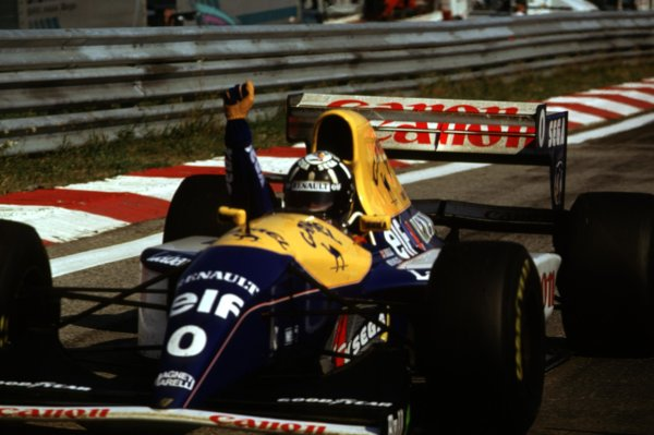 1993 Hungarian Grand Prix.