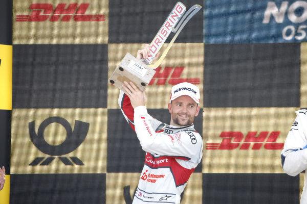 Podium: second place Jamie Green, Audi Sport Team Rosberg.