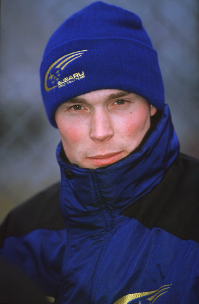 FIA World Rally ChampsMonte Carlo Rally10th-13th Febuary 2000.Richard Burns, portrait -Subaru.World - LAT Photographic.Tel: +44 (0)208 251 3000Fax: +44 (0)208 251 3001
