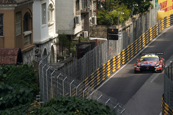 #88 Mercedes-AMG Team Craft Bamboo Racing Mercedes AMG GT3: Alessio Picariello.