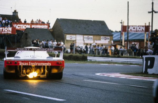 Bob Wollek / Jean-Michel Martin / Philippe Martin, Belga Team - Joest Racing, Porsche 936.