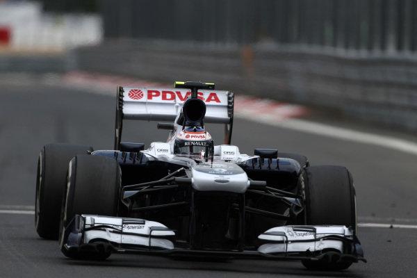 Valtteri Bottas (FIN) Williams FW35. Formula One World Championship, Rd9, German Grand Prix, Practice, Nurburgring, Germany, Friday 5 July 2013.