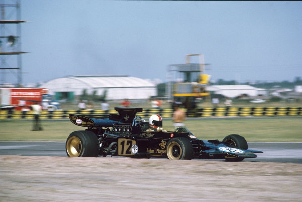 1972 Argentinian Grand Prix.  Buenos Aires, Argentina. 21-23rd January 1972.  Dave Walker, Lotus 72D Ford.  Ref: 72ARG69. World Copyright: LAT Photographic