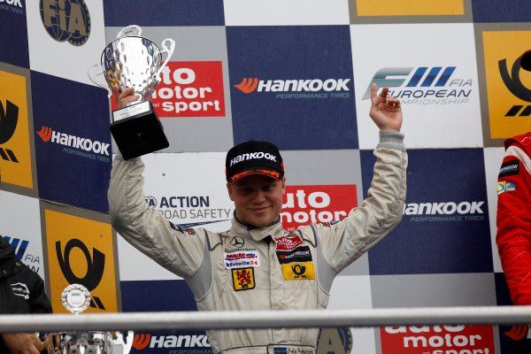 2nd Felix Rosenqvist (SWE) KFZTEILE24 MÜCKE MOTORSPORT Dallara F312 Mercedes