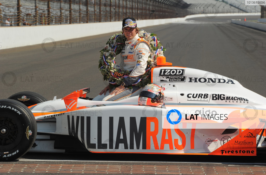 2011 IndyCar Indy 500 Race Winner's Portrait