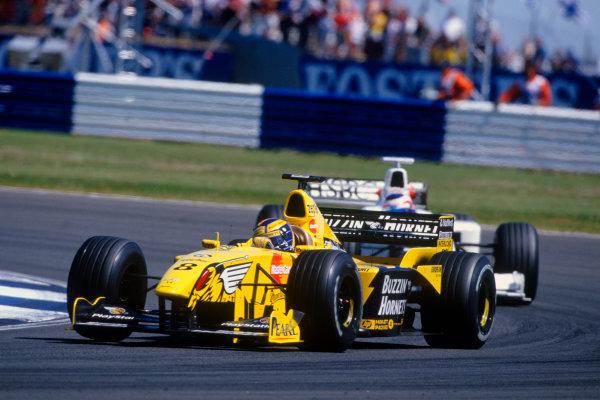 Silverstone, England.9th - 11th July 1999. Rd 8.xxxWorld Copyright: LAT PhotographicRef: 99GB30