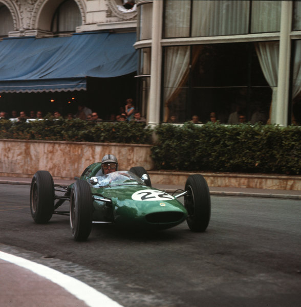 Monte Carlo, Monaco.31/5-3/6 1962.Jack Brabham (Lotus 24 Climax).Ref-3/0508.World Copyright - LAT Photographic