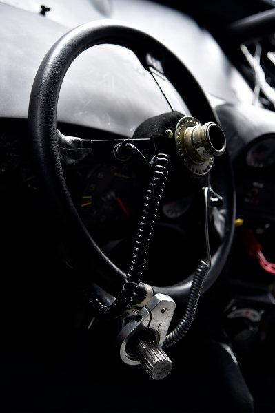 NASCAR Xfinity Series Sparks Energy 300 Talladega Superspeedway, Talladega, AL USA Friday 5 May 2017 Erik Jones, Reser's American Classic Toyota Camry steering wheel. World Copyright: Rusty Jarrett LAT Images ref: Digital Image 17TAL1rj_1181