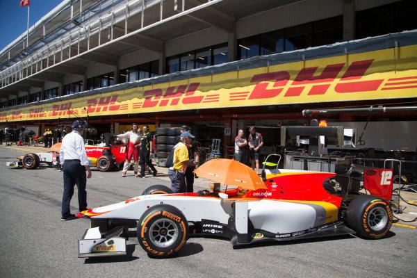 2017 FIA Formula 2 Round 2. Circuit de Catalunya, Barcelona, Spain. Friday 12 May 2017. Roberto Merhi (ESP, Campos Racing)  Photo: Jed Leicester/FIA Formula 2. ref: Digital Image JL1_9141