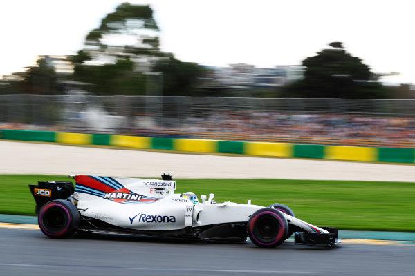 Albert Park, Melbourne, Australia. Saturday 25 March 2017. Felipe Massa, Williams FW40 Mercedes. World Copyright: Steven Tee/LAT Images ref: Digital Image _O3I2139