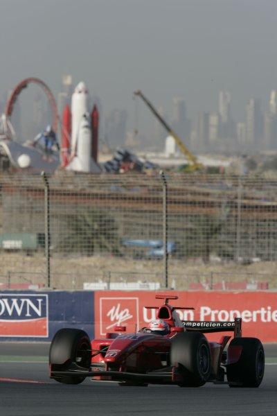 2008 GP2 Asia Series. Testing.Dubai. Dubai Autodrome. 20th January.Milos Pavlovic, (YU, BCN Competicion). Action. World Copyright: Alastair Staley/GP2 Series Media Serviceref: _P9O1194