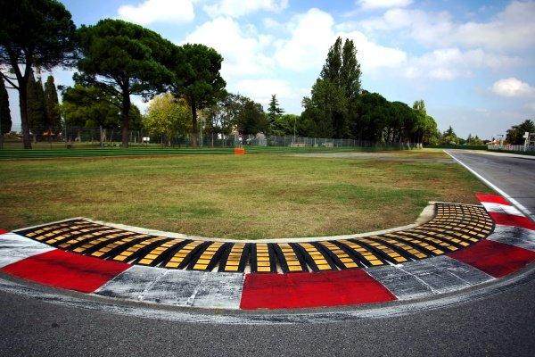 The chicane at Variante Alta. Imola Track Walk, Imola, San Marino, Thursday 17 September 2009.