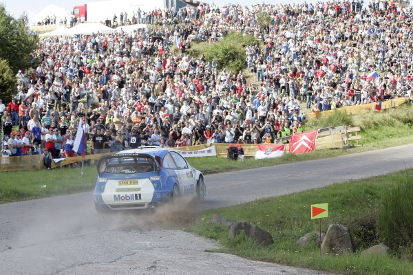 FIA World Rally Championship 2007Round 10Rally Deutschland, Germany.Trier, Germany.16th - 19th August 2007Guy Wilks, Ford, action.Worldwide Copyright: McKlein/LAT