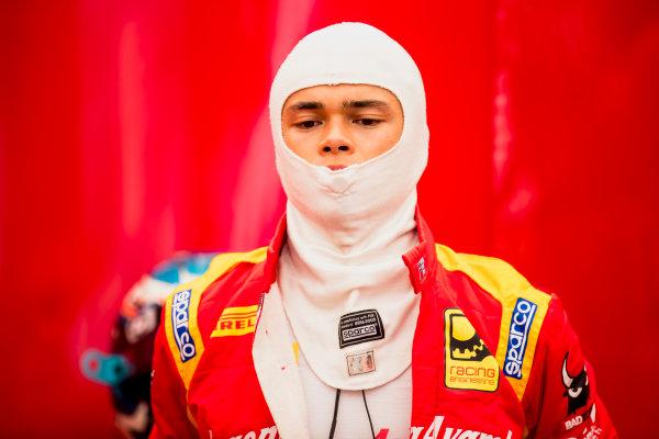 2017 FIA Formula 2 Round 9. Autodromo Nazionale di Monza, Monza, Italy. Friday 1 September 2017. Nyck De Vries (NED, Racing Engineering).  Photo: Zak Mauger/FIA Formula 2. ref: Digital Image _56I6268