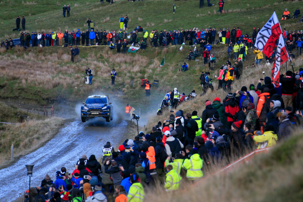 2014 World Rally Championship Wales Rally GB 13-16th November 2014 Mikko Hirvonen. Ford WRC. Action Worldwide Copyright: McKlein/LAT