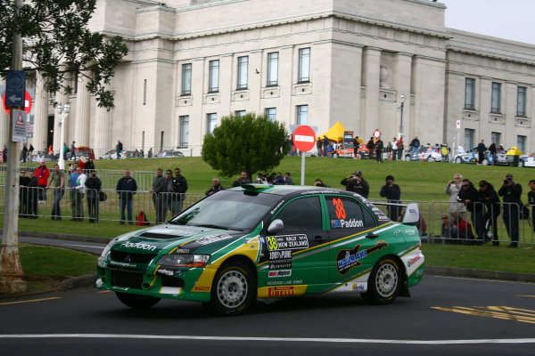 2010 FIA World Rally ChampionshipRound 05Rally New Zealand 7 - 9 May  2010Hayden Paddon, Mitsubishi, ActionWorldwide Copyright: McKlein/LAT
