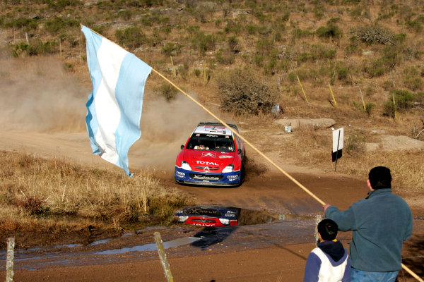 2004 FIA World Rally Championship, Round 8Rally Argentina. 15th-18th July 2004Carlos Sainz, Citreon, ActionWorld Copyright: McKlein/LAT Photographic