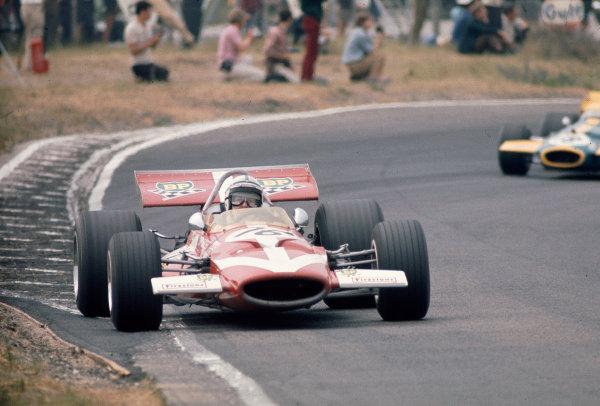 1970 Dutch Grand Prix.Zandvoort, Holland.19-21 June 1970.John Surtees (Team Surtees/McLaren M7C Ford) 6th position.Ref-70 HOL 11.World Copyright - LAT Photographic
