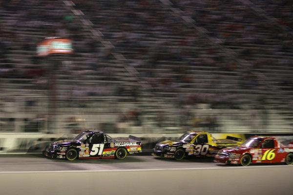 Kyle Busch (USA) Miccosukee Resorts/NOS Energy Drink  Toyota. O'Reilly 200, Bristol Motor Speedway, Tennessee, USA, 20 August 2008.