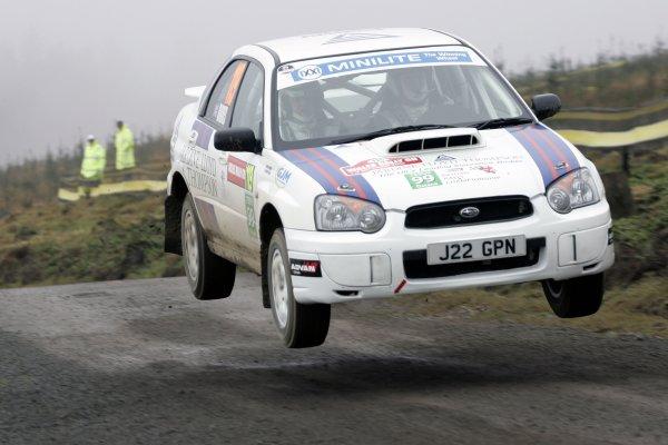 2006 British Rally Championship.Wales Rally GB. 1st-3rd December 2006.Andrew  Barnes.World Copyright: Ebrey/LAT Photographic.