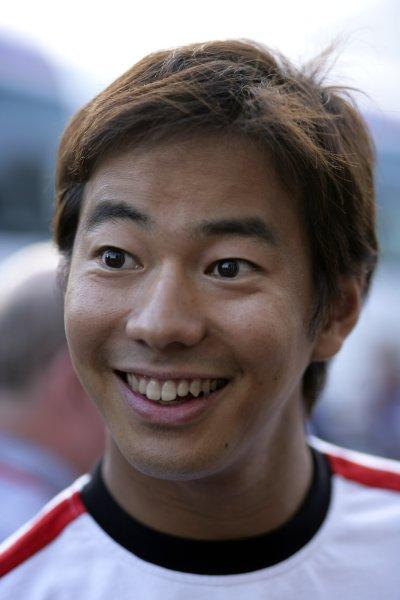 2006 German Grand Prix - Friday Practice Hockenheim, Germany. 27th - 30th July. Sakon Yamamoto, portrait. World Copyright: Steven Tee/LAT Photographic ref: Digital Image VY9E3195
