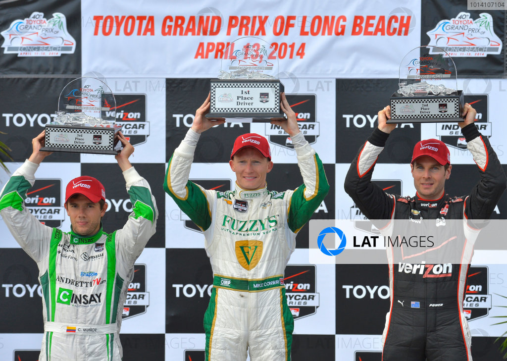 11-13 April, 2014, Long Beach, California USA #20 Mike Conway Fuzzy